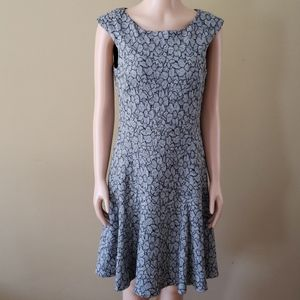 Nanette Lepore Fit and Flare dress size 4